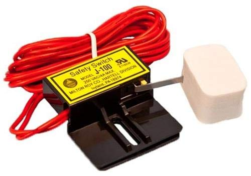 Hartell J-100 Condensate Overflow/Shut-Off Switch, High Voltage 24/125-250VAC/VDC - Compatible Replacement for Little Giant 599124 ACS-3