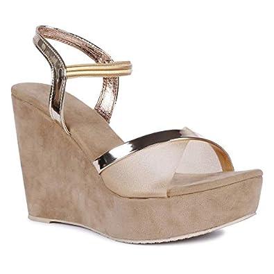 ZAPATOZ Women Wedge Heel Sandal
