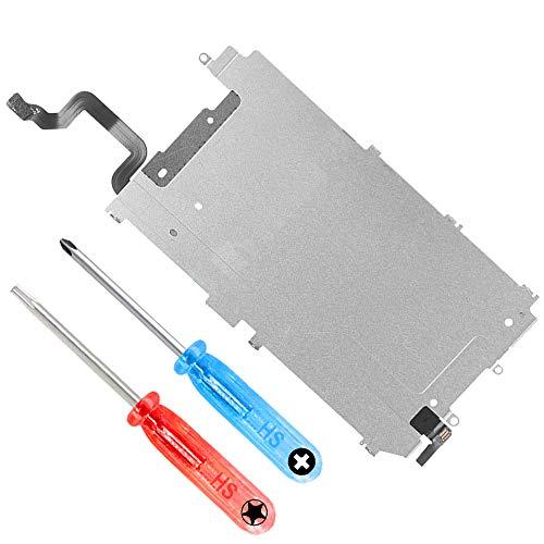 MMOBIEL LCD Placa Trasera de protección térmica Compatible con iPhone 6 Incl. extensión pre-instalada de Cable Flexible para botón de Inicio Incl. 6X Tornillos y 2X Destornilladores