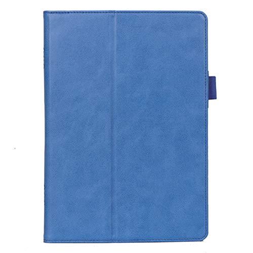 ISIN Premium PU Folio Funda Case Cover Carcasa General para 10,1 Pulgadas Lenovo Tab P10 TB-X705, Smart Tab M10 HD TB-X505, Tab M10 FHD TB-X605 y Tab5 10,1 Android Tablet PC(Azul)