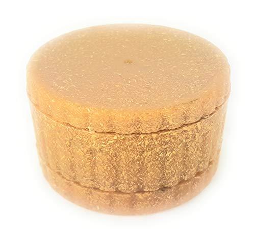 Magnetisches Mahlwerk aus 100 % Hanf-Kunststoff, 3-teilig, mit Sieb, 100 % biologisch abbaubar (3)