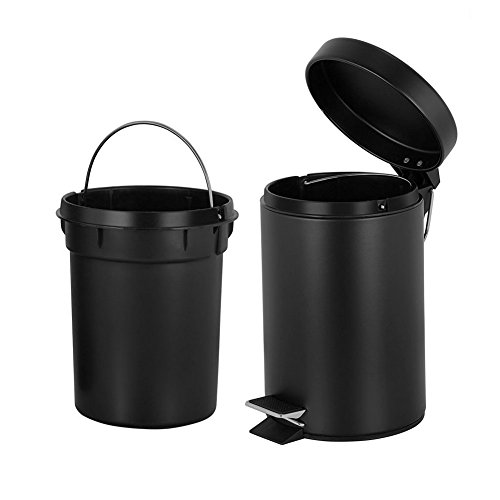Product Image of the H+Lux Round Mini Trash Can