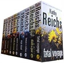 Kathy Reichs 10 - Books Collection (Bare Bones, Bones to Ashes, Grave Secrets,Monday Mourning, Fatal Voyage, Deja Dead, De...