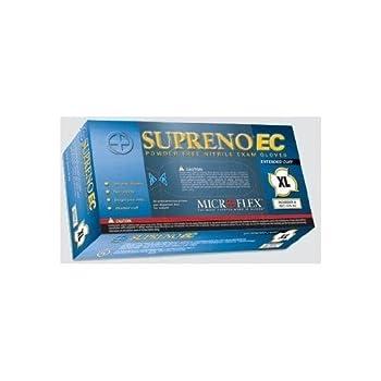 Microflex - Blue Supreno EC Nitrile Powder-Free Disposable Gloves Textured - Box - XXX-Large