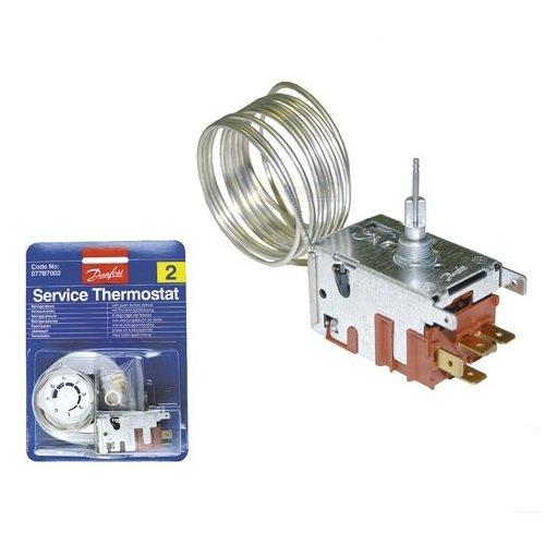 Universal Thermostat Servicethermostat Kühlschrank 077B7002 Danfoss Nr. 2 1300mm