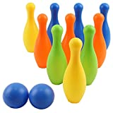 Vokodo Toy Bowling Set For Toddlers 12 Pieces...