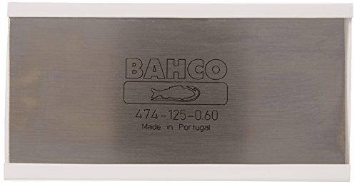 Bahco 474-125-0.60, Rasqueta de Carpintero, 125 x 0.6 mm