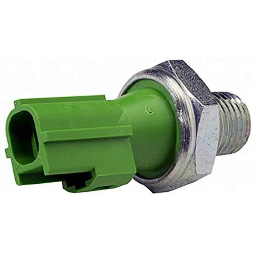 HELLA 6ZL 009 600-081 Interruptor de control de la presión de aceite - 12V - Número de conexiones: 1 - Medida de rosca: 1/4-18NPT - Contacto ruptor - verde
