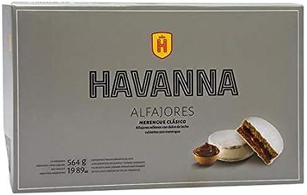 Alfajores Havanna merengue clásico con dulce de leche x12 584 gr/19.9 ounce
