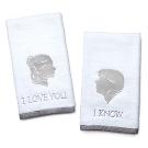 Star Wars I Love You / I Know Hand Towels | ThinkGeek