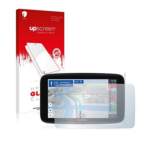 upscreen Protector Pantalla Cristal Templado Compatible con Tomtom GO Discover 6' Hybrid Glass - 9H Dureza