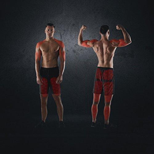 Ultrasport Mini vélo d'appartement, pédalier, entraînement des bras et des jambes, vélo elliptique pour la musculation et l'endurance, résistance réglable, pour la maison ou le bureau