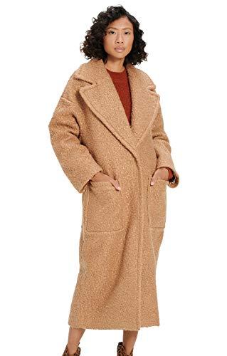 UGG Hattie Long Oversized Mantel 2021 Camel, S