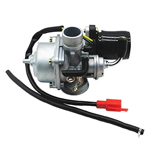 Uayasily Filtro De Aire del Carburador Pila Carburador del Motor De Carb Carb Carburador Compatible con 90 2001-2006 Eléctrico Estrangulación Ciclomotor Scooter