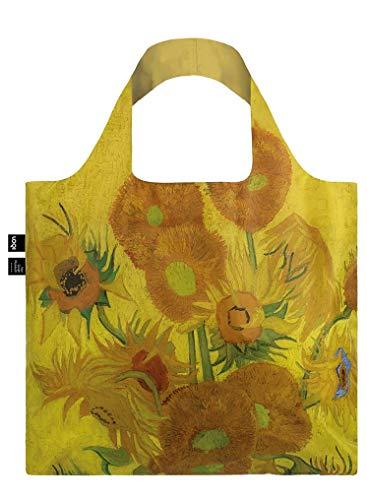 LOQI VAN GOGH Sunflowers Bag Tote da viaggio, 50 cm, 15 liters, Giallo (Sunflowers)