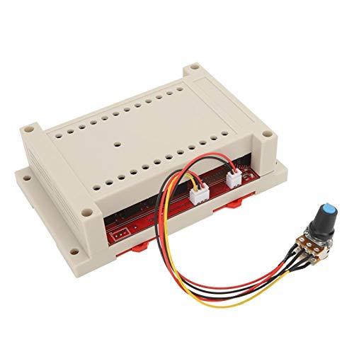 Regulador de Velocidad Duradero DC 10V-50V Controlador de Velocidad de Alta Potencia para la regulación de Velocidad del Motor del Cepillo DC