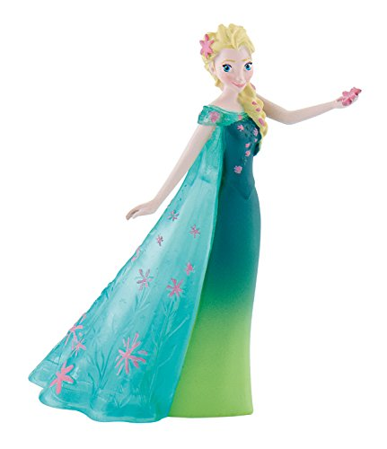 Bullyland 12958 - Spielfigur, Walt Disney Frozen Fever, Elsa, ca. 9,5 cm, bunt