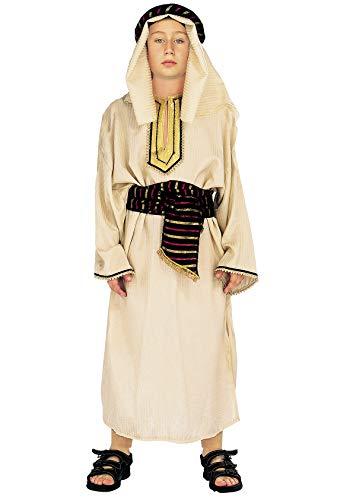 chiber Disfraces Disfraz de Pastor Pastorcillo Moisés Navidad (4-6 años)