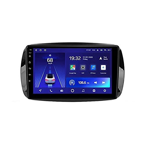 Estéreo para automóvil Android 10.0 Radio compatible Mercedes Benz Smart 2014-2020 Navegación GPS Unidad principal de 9 pulgadas Pantalla táctil HD Reproductor multimedia MP5 Video con WiFi DSP SWC M
