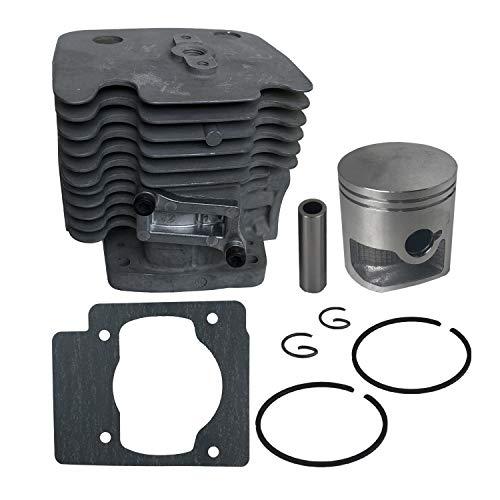 JERDE Cylinder Kit 47.5mm for Redmax EBZ6500 EBZ6500RH EBZ7500 EBZ7500RH Backpack Leaf Blowers [#577 25 73-01]