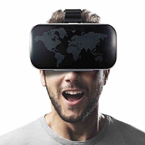 VR virtuelle Realität Brille Kopf tragen 3D intelligente Gläser blaue Augenschutzbrillen