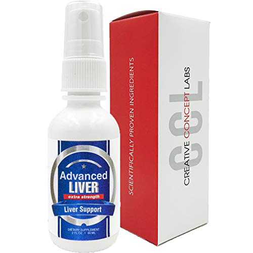 CCL Advanced Liver Detox & Cleanse Supplement. Most Effective Delivery W/Advanced Absorption Technology. Liquid More Effective Than Pills, Powders, Capsules. Ultimate Regenerator.
