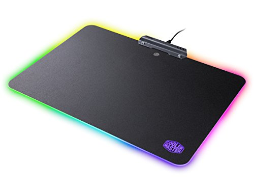 Cooler Master MasterAccessory RGB Hard Gaming Mousepad with Non-Slip Grips