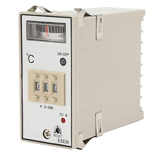 Temperatura de punto 0-399 ℃ Controlador de temperatura de medición estable para horno para horno de calentamiento