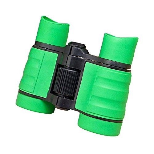 BARMI - Prismáticos infantiles de 4 x 30 cm, tamaño de bolsillo, aumento para juegos al aire libre, juego perfecto para niños,...