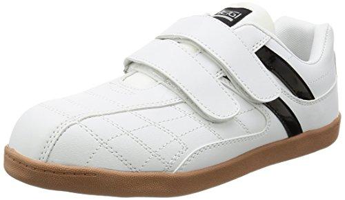 [ヘイギ] 安全靴 セーフティーシューズ マジック 先芯入り スニーカー 作業靴 HG-1516M メンズ ホワイト 24.5 cm