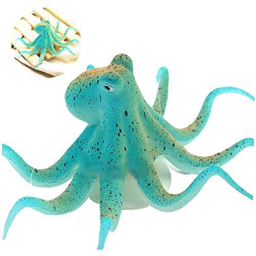 Angoter Simulierte Artificial Octopus Für Aquarium-Landschaft Dekoration-Fisch-Behälter Zubehör
