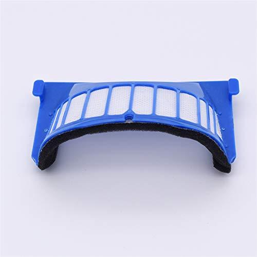 SANKUAI 1 stück Filter aerovac für i-r-o-b-o-t für r-o-o-m-b-a 500 Serie 600 528 552 564 595 610 615 620 625 630 650 660 670 Zubehör für Staubkollektoren (Farbe : Blue)