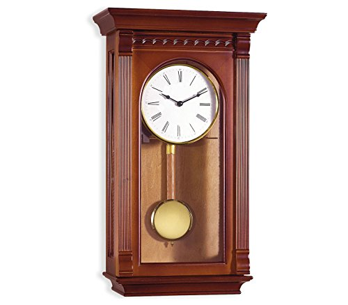 RELOJESDECO Reloj de Pared de péndulo 58 cm, Reloj de péndulo, Reloj de carrillón, maquinaria Cuarzo, Disponible num Arabes