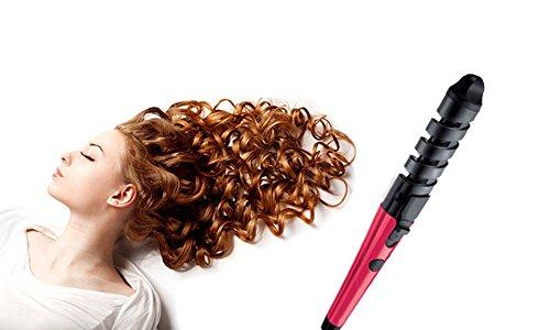 Piastra arriccia capelli nuova tecnologia a Spirale boccoli perfetti. MWS