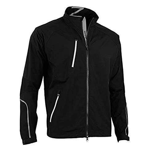 Purchase Zero Restriction Men's Power Torque Jacket, Black/Metallic Silver, X-Large