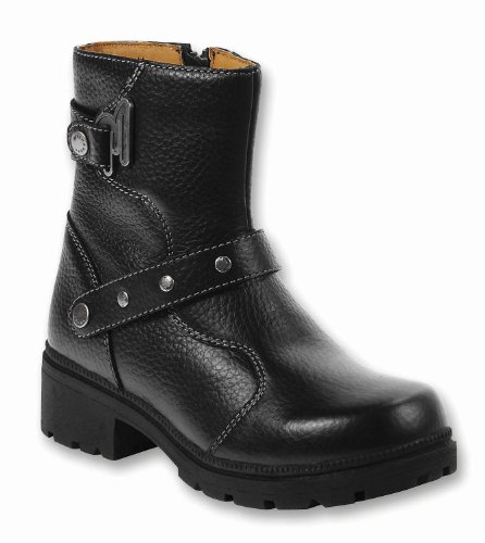Milwaukee Motorcycle Clothing Company MVB23736 Womens Delusion Boots (Black, Size 8B)