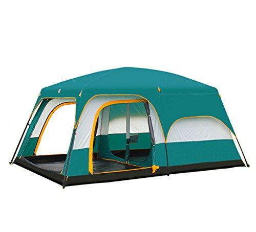 OGERT Esterno Tenda Da Campeggio Campeggio Persone Camera Grande Tenda,Blue