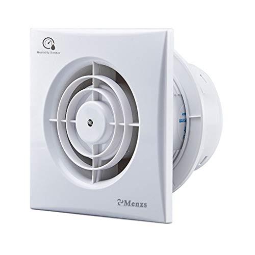 Bathroom Quiet Extractor Fan with Humidity Sensor 4-inch (100mm) 240 V,...