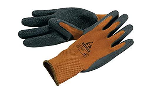 Bellota 75102-8/M - Guante de trabajo para agricultura y jardinería tipo grip, guante de trabajo con máximo agarre