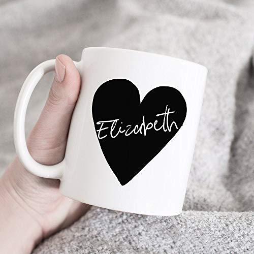 Regalo personalizado, taza de nombre personalizado, idea de regalo personalizada, regalo para novia, taza de café personalizada, regalo para esposa, taza personalizada, regalo para tu marido, regalo