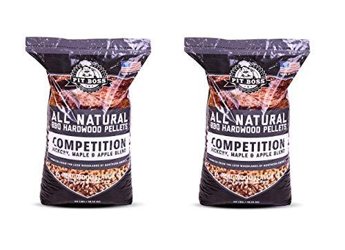 JN Pit Boss Competition Blend BBQ Pellets - 40 lb - (2-Pack)