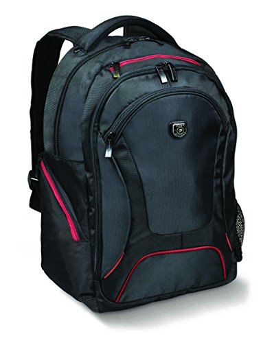 Port Designs Courchevel Professional Business Women/Men Large Travel Black Rucksack/Backpack Padded Laptop Bag for 17.3-Inch Windows/Dell/HP/Laptop/MacBook