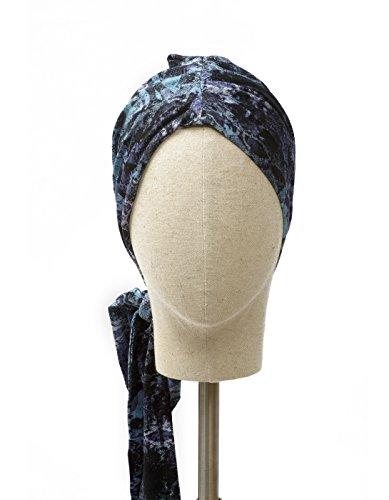 Belle Turban Reine V Pañuelo para la Cabeza, Multicolor (Acuarela 103), One Size (Tamaño del fabricante:One Size) para Mujer