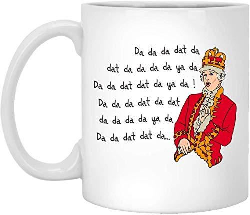 WTOMUG King George Chorus - Funny Hamilton Ceramic Coffee Mu