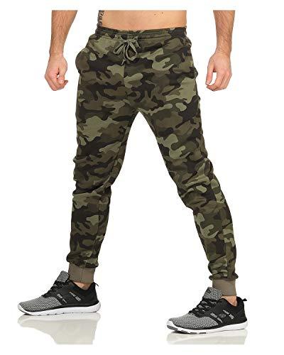 ZARMEXX Pantalon de relaxation pour homme Camouflage Pantalon de jogging Sport et Loisirs Casual Fitness et Pantalon de survêtement - Multicolore - XXXL