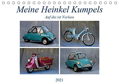 Meine Heinkel Kumpels (Tischkalender 2021 DIN A5 quer)