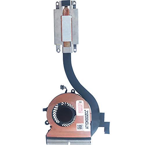 Cooling Fan Cooler with Heatsink Compatible with Dell Latitude 12 E7270, 12 E7270 (i5-6300U), 12 E7270 (HD Graphics 520)