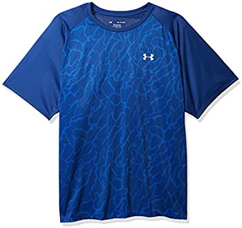 Under Armour Men's Tech 2.0 Vibe Print Short Sleeve Gym Workout T-Shirt