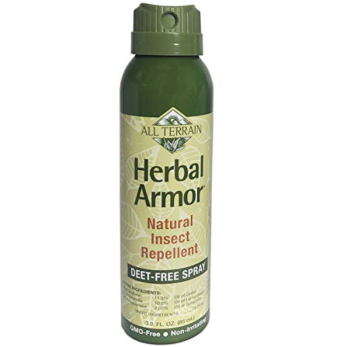 All Terrain Herbal Armor Natural Insect Repellent, DEET-Free Spray, 3 Ounce