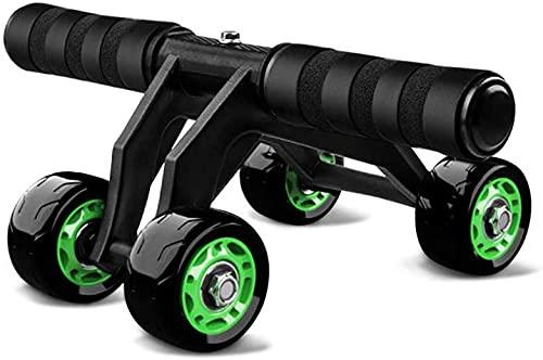 Rueda Abdominal Rodillo Abdominal Core Abdominal Fitness Wheel Trainer Fitness Equipment, Utilizado para el Ejercicio de la Aptitud del hogar y el Entrenamiento de Fuerza LQHZWYC